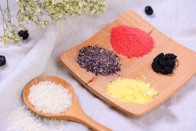 Học ngay cách làm món xôi ngũ sắc với toàn bộ màu sắc từ trái cây, vừa ngon vừa đẹp! - Ảnh 2
