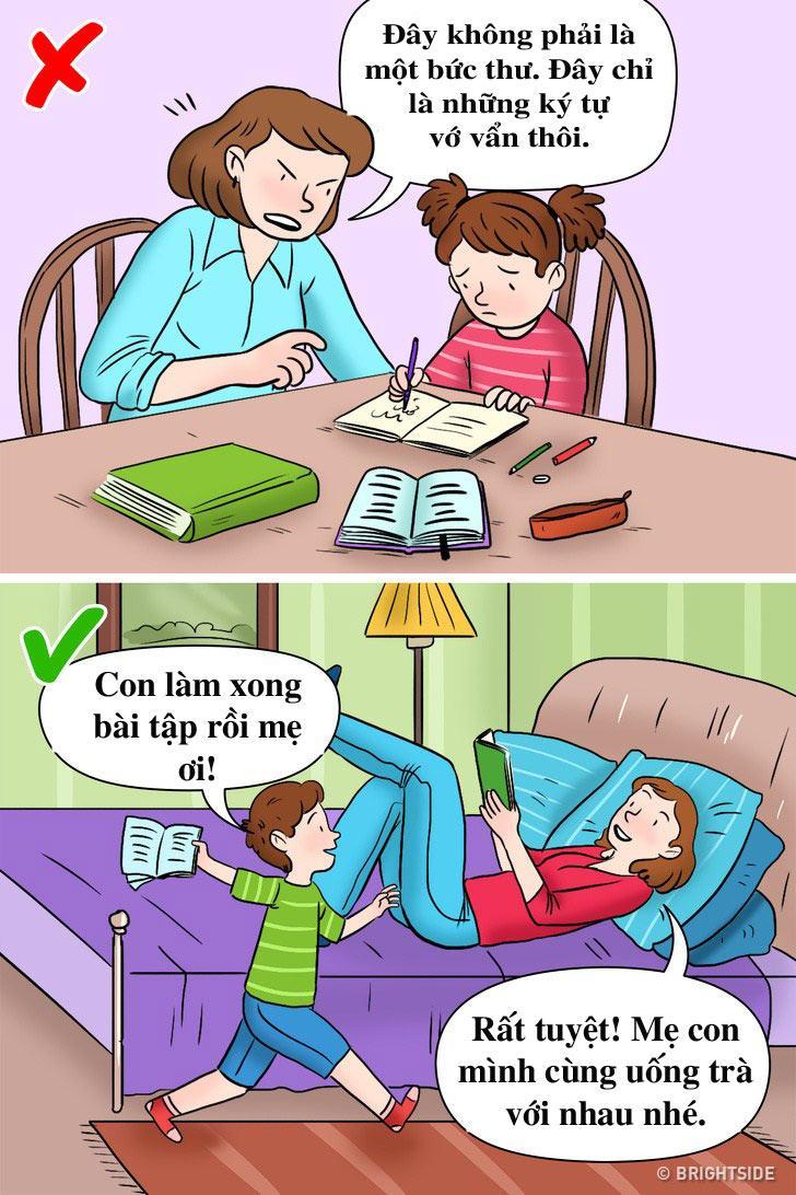 3 lí do bố mẹ không nên làm bài tập về nhà cùng con đầu năm học mới - Ảnh 1
