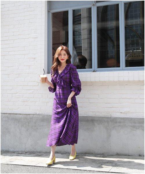 Váy áo kẻ giúp nàng đi chơi hay công sở đều xinh - Ảnh 7