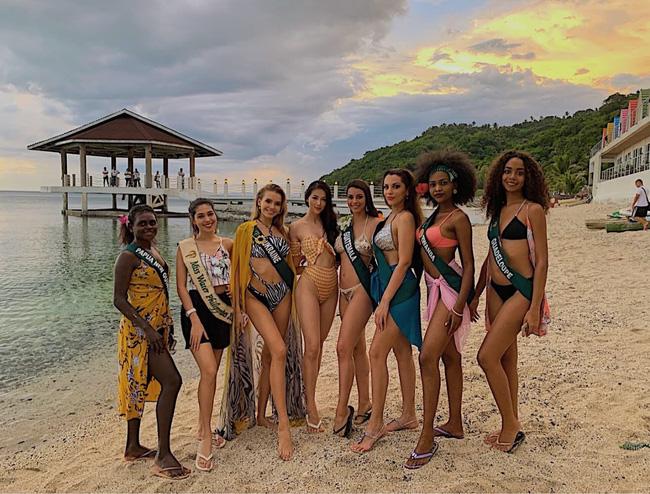 Phương Khánh diện bikini khoe đường cong nuột nà trước ngày trao lại vương miện Hoa hậu Trái đất - Ảnh 9