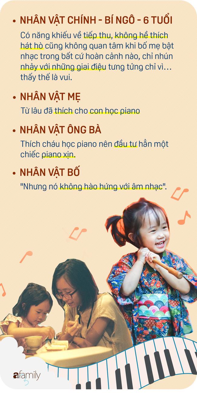 Từ câu chuyện cái đàn piano… đến việc cho con đi học năng khiếu, học cho con hay cho sở thích của bố mẹ? - Ảnh 1