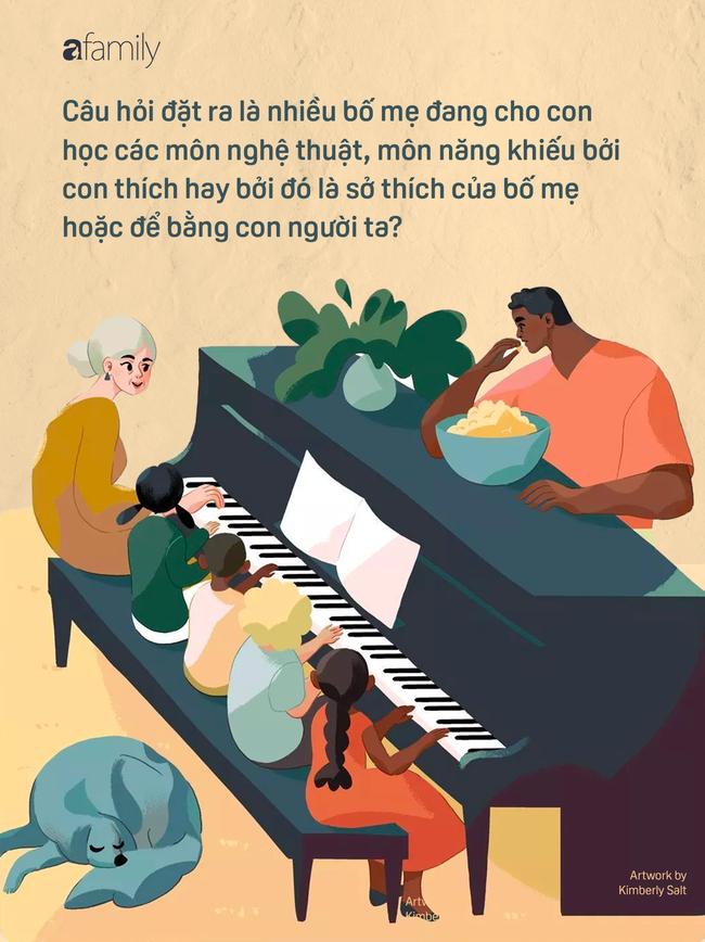 Từ câu chuyện cái đàn piano… đến việc cho con đi học năng khiếu, học cho con hay cho sở thích của bố mẹ? - Ảnh 2