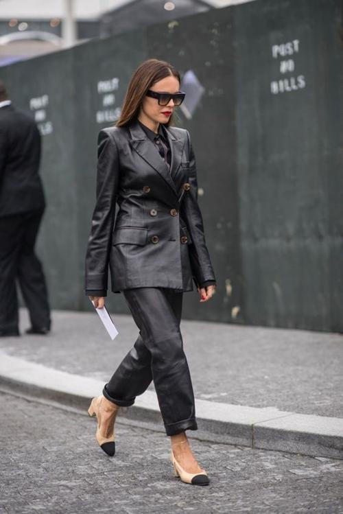 10 cách mặc suit công sở mới mẻ dành cho phái đẹp - Ảnh 5