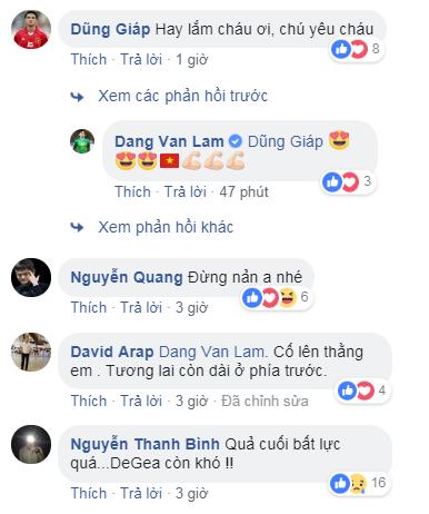 Bị chỉ trích vì để thủng lưới 3 lần, Đặng Văn Lâm đăng status đáp trả dân mạng cực thâm thúy - Ảnh 6