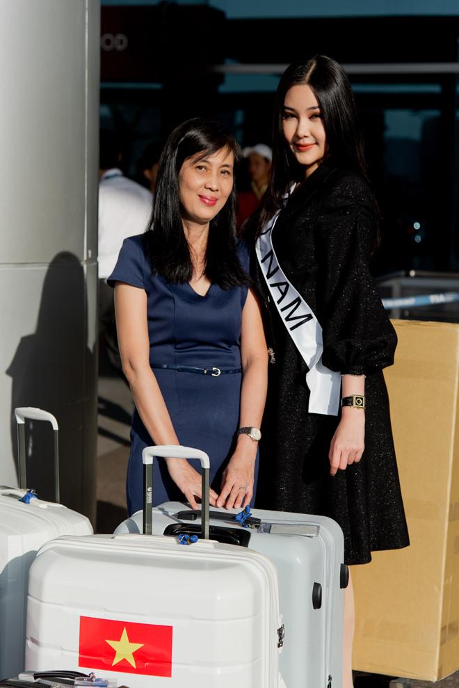 Sau tất cả, Lê Âu Ngân Anh lên đường đi thi Hoa hậu Liên lục địa - Ảnh 1