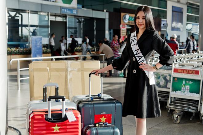 Sau tất cả, Lê Âu Ngân Anh lên đường đi thi Hoa hậu Liên lục địa - Ảnh 2