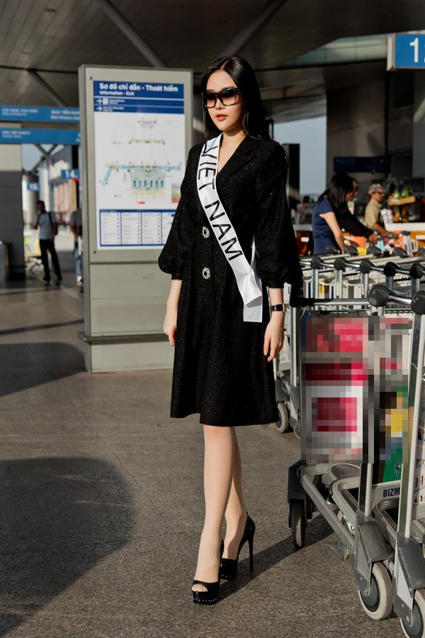 Sau tất cả, Lê Âu Ngân Anh lên đường đi thi Hoa hậu Liên lục địa - Ảnh 5