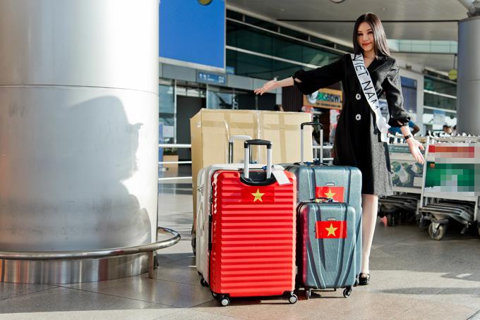 Sau tất cả, Lê Âu Ngân Anh lên đường đi thi Hoa hậu Liên lục địa - Ảnh 6