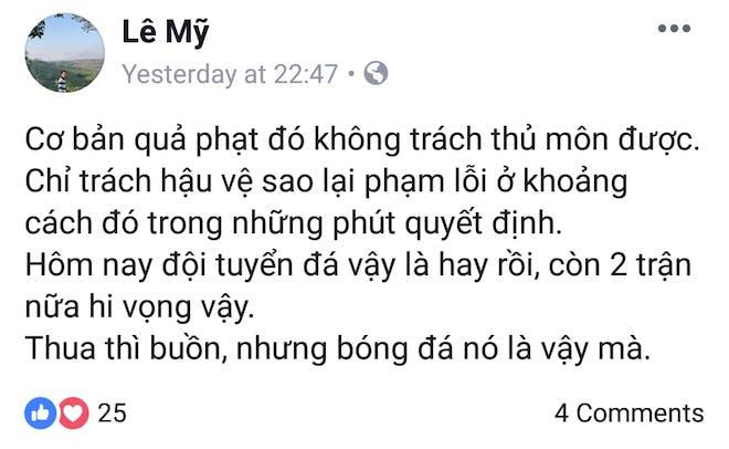 Bị chỉ trích vì để thủng lưới 3 lần, Đặng Văn Lâm đăng status đáp trả dân mạng cực thâm thúy - Ảnh 4