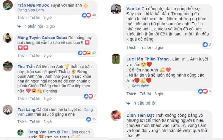 Bị chỉ trích vì để thủng lưới 3 lần, Đặng Văn Lâm đăng status đáp trả dân mạng cực thâm thúy - Ảnh 5