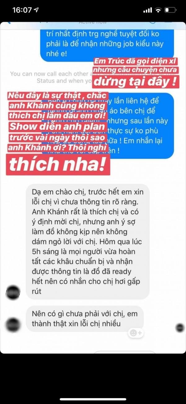 Được Lý Quí Khánh mời diễn show trước hẳn... 1 ngày, Minh Triệu phản ứng: 'Tôi chỉ hợp tác với những nơi mà mình được tôn trọng!' - Ảnh 3