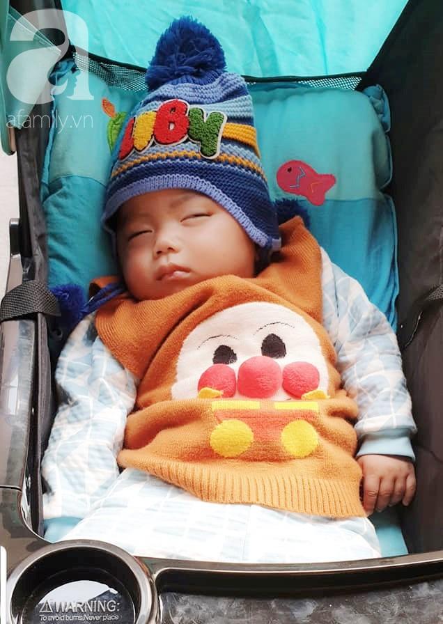 Hình ảnh mới nhất của bé Trọng Em 9 tháng tuổi bị mẹ bỏ rơi khi phát hiện bé bị bại não - Ảnh 6