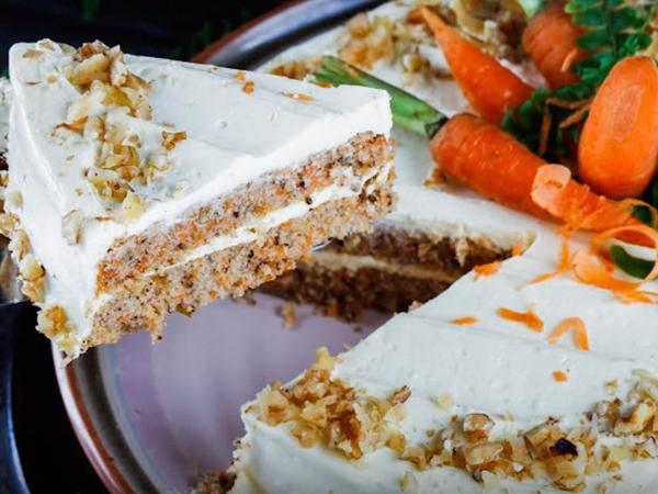 Bánh cà rốt lạ miệng hấp dẫn khó chối từ - Ảnh 1