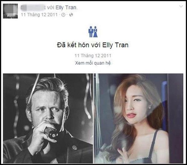 """Bất ngờ thân thế chồng Tây nghi đã """"cắm sừng"""" Elly Trần - Ảnh 2"""
