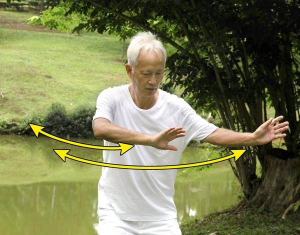 6 động tác khí công giúp chống lão hóa toàn diện - Ảnh 5