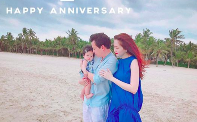 Hoa hậu Đặng Thu Thảo diện áo dài đôi cùng con gái nhưng bất ngờ vì chi tiết này - Ảnh 2