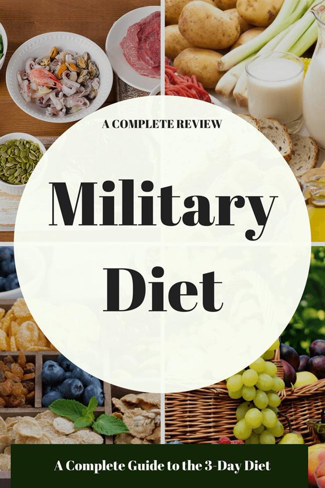 Giảm gần 5kg trong 7 ngày với chế độ ăn kiêng quân đội - Ảnh 1
