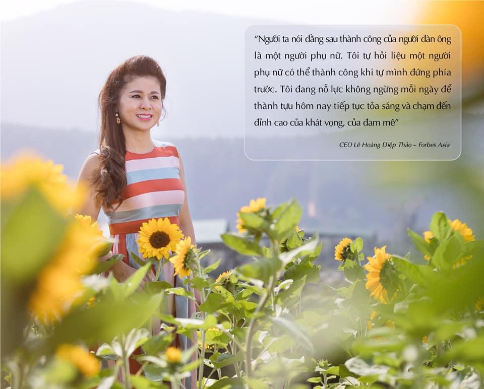 Nhân ngày 8/3, bà Lê Hoàng Diệp Thảo chia sẻ điều bất ngờ trên trang cá nhân - Ảnh 2
