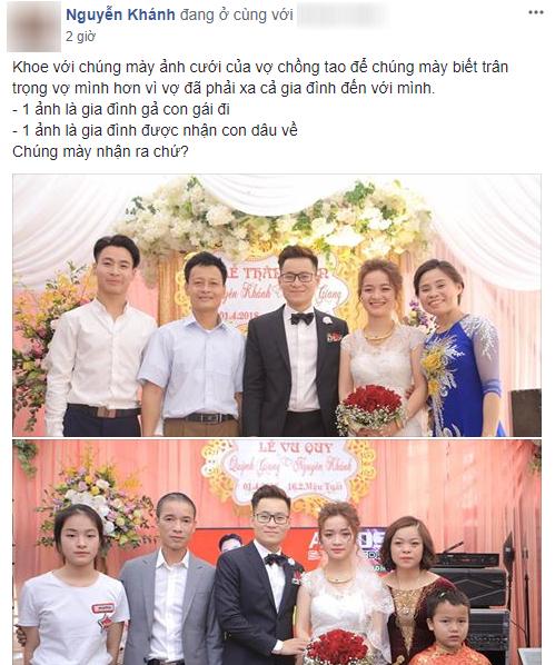 'Một đám cưới hai tâm trạng' - bức ảnh làm dậy sóng MXH hôm nay chứng minh: Ngày cưới chưa chắc ai cũng vui! - Ảnh 1