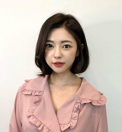 Tóc chữ C - mốt tóc 'nhận diện' các cô gái Hàn sành điệu - Ảnh 2