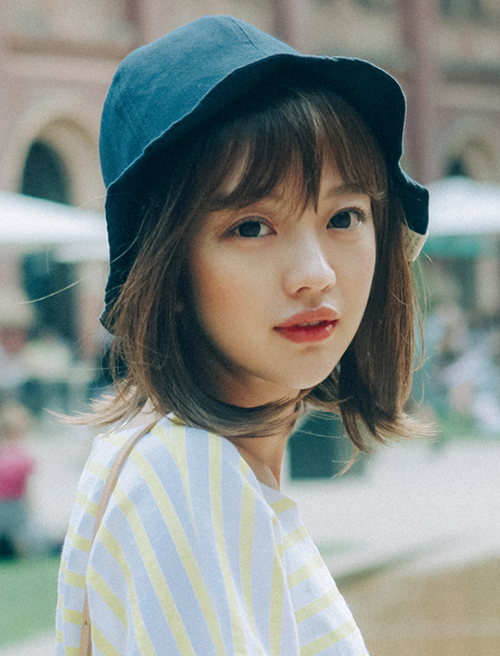 Tóc chữ C - mốt tóc 'nhận diện' các cô gái Hàn sành điệu - Ảnh 3