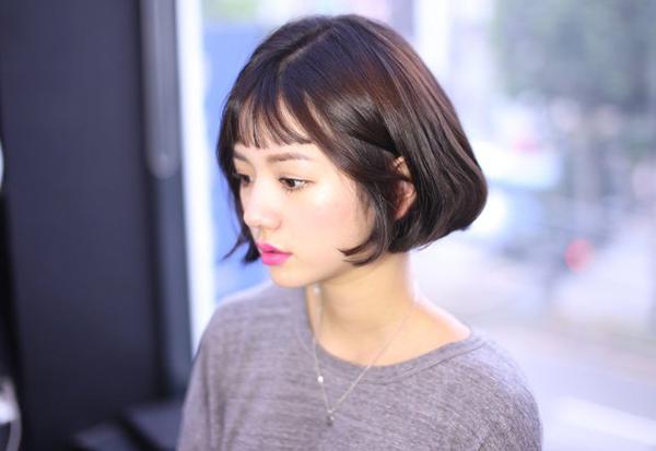 Tóc chữ C - mốt tóc 'nhận diện' các cô gái Hàn sành điệu - Ảnh 7