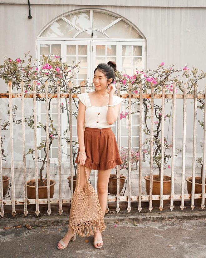 Như một thói quen: Ngày nắng nóng là chị em thi nhau lên đồ với 4 kiểu quần shorts xinh xắn, trendy này - Ảnh 5