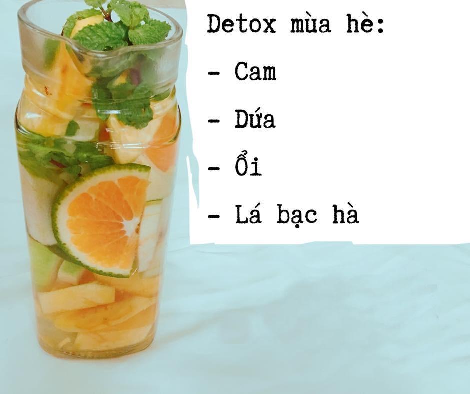 Công thức nước uống detox vừa thanh nhiệt, giải độc, vừa giữ dáng hiệu quả cho ngày nắng nóng - Ảnh 2