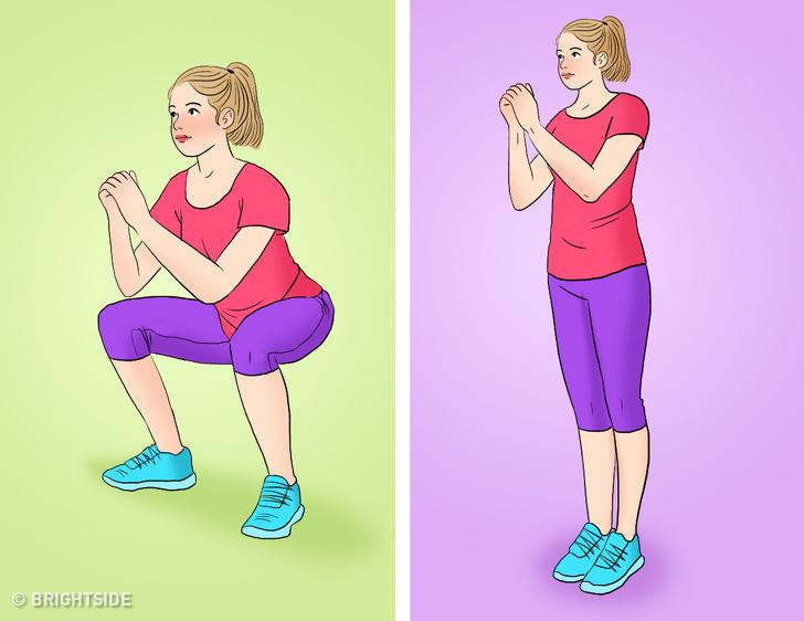 Bài tập tại nhà vừa giảm cân vừa tăng cơ mông giúp phụ nữ sở hữu vòng 3 căng tròn, vóc dáng quyến rũ - Ảnh 10