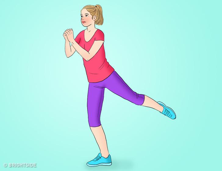 Bài tập tại nhà vừa giảm cân vừa tăng cơ mông giúp phụ nữ sở hữu vòng 3 căng tròn, vóc dáng quyến rũ - Ảnh 2