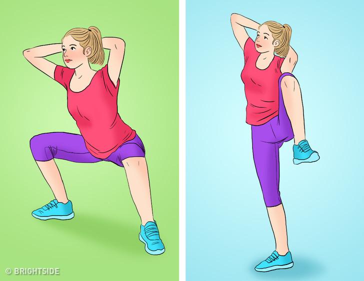Bài tập tại nhà vừa giảm cân vừa tăng cơ mông giúp phụ nữ sở hữu vòng 3 căng tròn, vóc dáng quyến rũ - Ảnh 4