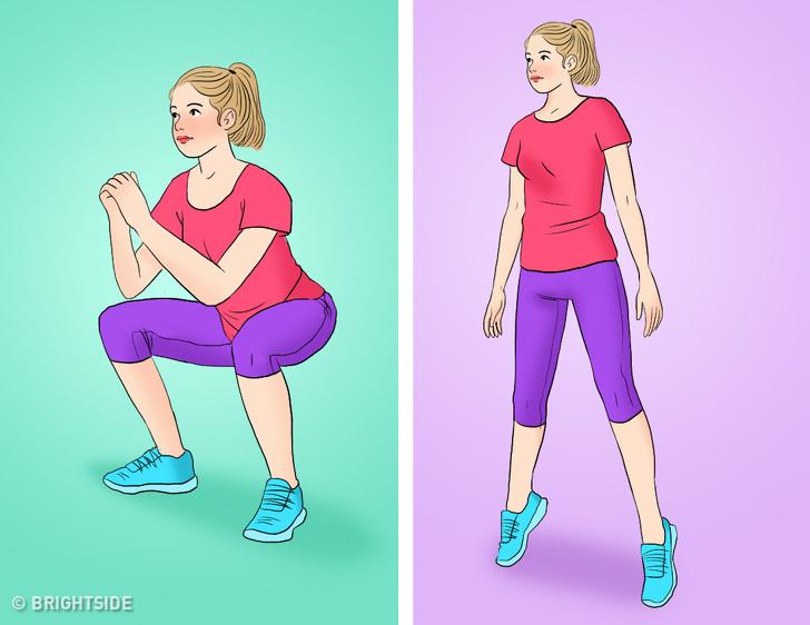 Bài tập tại nhà vừa giảm cân vừa tăng cơ mông giúp phụ nữ sở hữu vòng 3 căng tròn, vóc dáng quyến rũ - Ảnh 5