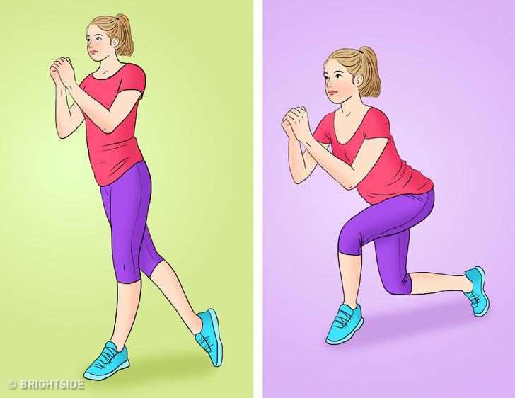 Bài tập tại nhà vừa giảm cân vừa tăng cơ mông giúp phụ nữ sở hữu vòng 3 căng tròn, vóc dáng quyến rũ - Ảnh 7