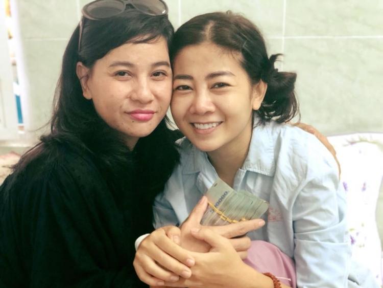 Cát Phượng gửi thông báo đến 'toàn xã hội': Lê Bình, Mai Phương ngày một khỏe lại, có thể xuất viện! - Ảnh 1