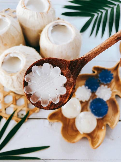 Thạch dừa tự làm ở nhà, ngon và sạch hơn ngoài hàng - Ảnh 1