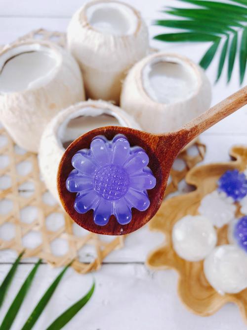 Thạch dừa tự làm ở nhà, ngon và sạch hơn ngoài hàng - Ảnh 2