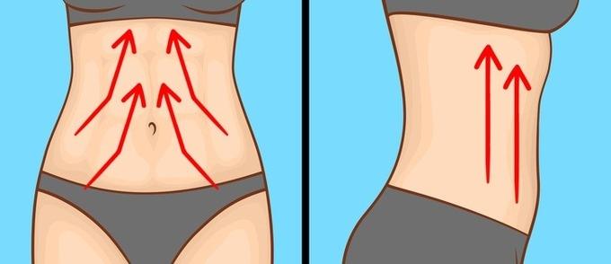 6 bài massage giảm mỡ bụng cho người ít vận động - Ảnh 5
