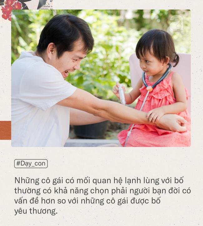 Chuyên gia tâm lý học Mỹ nhận định: Con gái lớn lên có lấy được chồng tốt hay không đều do ảnh hưởng của người bố - Ảnh 3