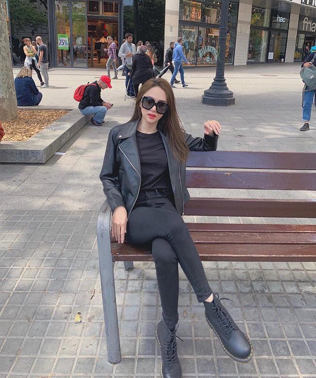 Học ngay 11 set đồ của Hoa hậu Hương Giang cách mix quần jeans từ đơn giản đến cá tính - Ảnh 11