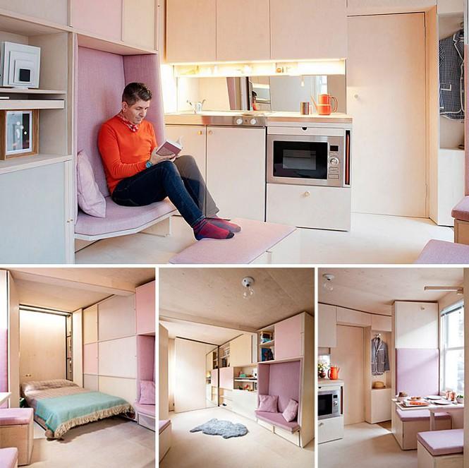Những căn hộ siêu nhỏ, cực chất nhìn mê liền nhờ thiết kế thông minh - Ảnh 4