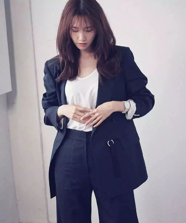Sao Hàn mặc blazer: 5 công thức thường xuyên được sử dụng để diện thật trẻ trung chiếc áo đứng đắn này - Ảnh 12