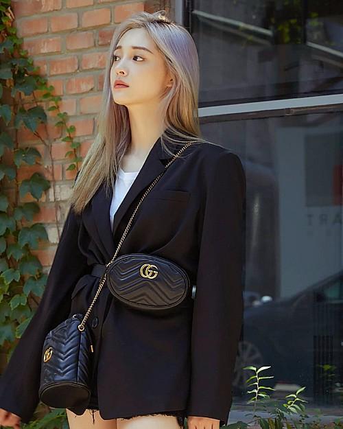 Sao Hàn mặc blazer: 5 công thức thường xuyên được sử dụng để diện thật trẻ trung chiếc áo đứng đắn này - Ảnh 17