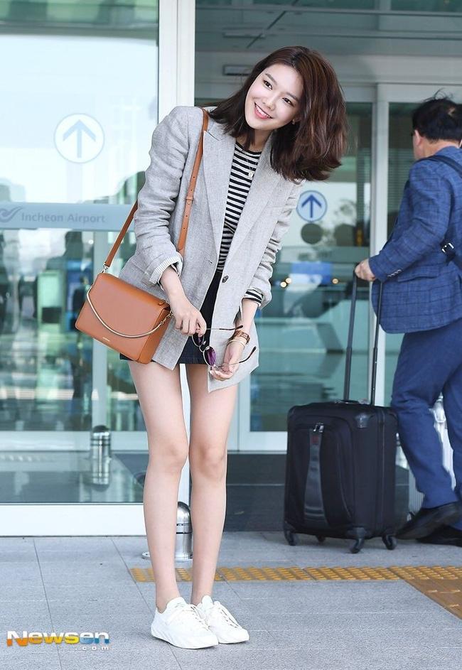 Sao Hàn mặc blazer: 5 công thức thường xuyên được sử dụng để diện thật trẻ trung chiếc áo đứng đắn này - Ảnh 4
