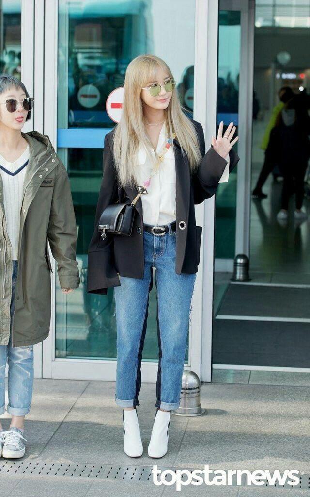 Sao Hàn mặc blazer: 5 công thức thường xuyên được sử dụng để diện thật trẻ trung chiếc áo đứng đắn này - Ảnh 9