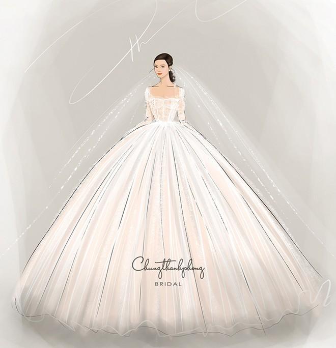 NTK Chung Thanh Phong tiết lộ 2 mẫu váy cưới đặc biệt của Đông Nhi - Ảnh 1