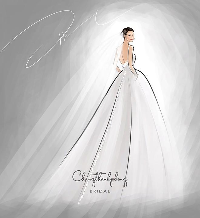 NTK Chung Thanh Phong tiết lộ 2 mẫu váy cưới đặc biệt của Đông Nhi - Ảnh 2
