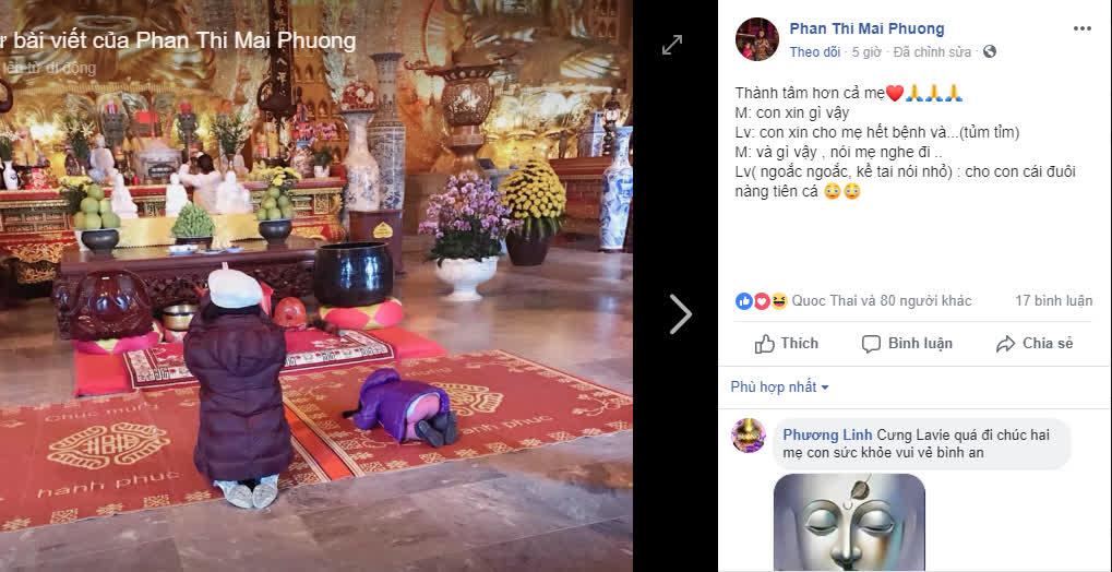 Rơi nước mắt với lời cầu nguyện của con gái Mai Phương dành cho mẹ đang mắc bệnh ung thư - Ảnh 7