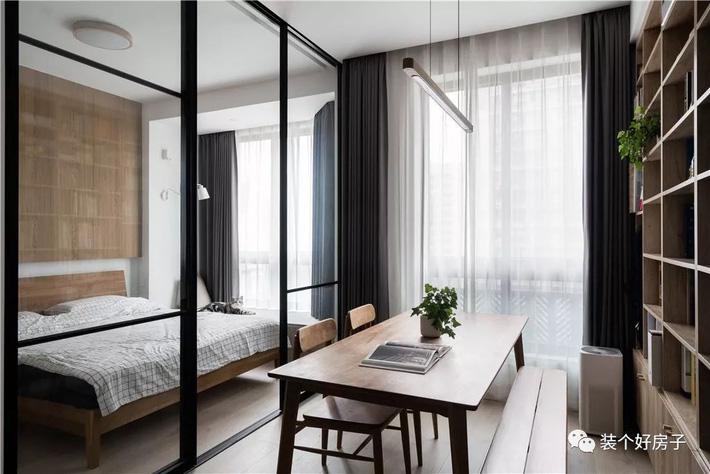 Căn hộ 60m² 'ghi điểm' với cách thiết kế và bố trí nội thất rất khoa học của cặp vợ chồng trẻ - Ảnh 11