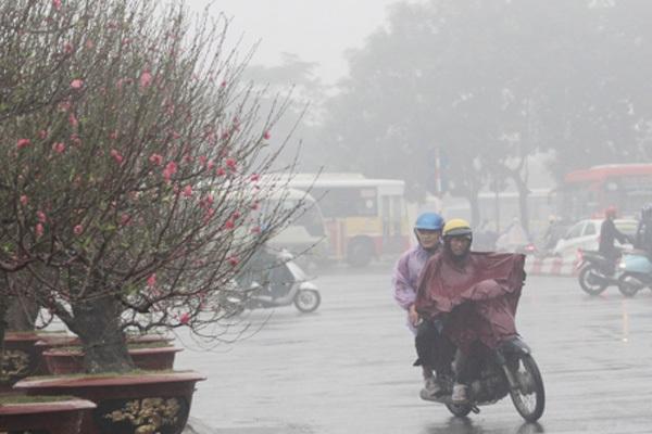 Thời tiết 3 ngày tới: Hà Nội chìm trong mưa rét - Ảnh 1