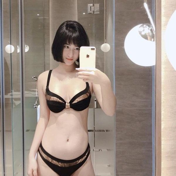 Hot girl Hải Phòng khoe ở chung với tiền vệ Huy Hùng là ai? - Ảnh 1